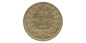 20 Francs Louis Philippe Ier Tête Laurée