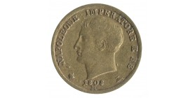 40 Lires Napoléon Imperator Italie - Occupation Francaise