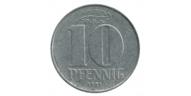 10 Pfennig - Allemagne Démocratique
