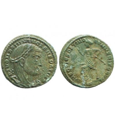 Quart de follis de Maximien empire romain