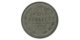 20 Kopecks Alexandre II - Russie Empire
