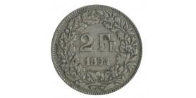 2 Francs Suisse