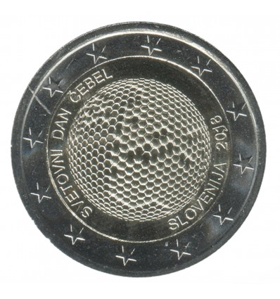 2 Euros Commemoratives Slovénie 2018