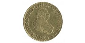 8 Escudos Ferdinand VI Pérou