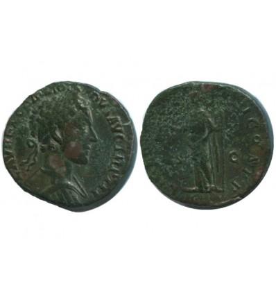 Sesterce de Commode Empire Romain