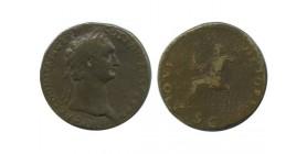 Sesterce de Domitien Empire Romain