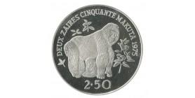 2 1/2 Zaire Zaire - Argent