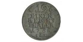 1/12 Thaler Frederic II allemagne argent - prusse