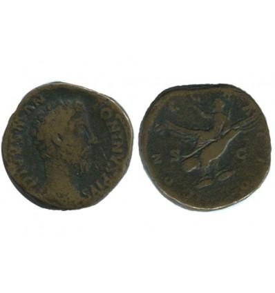 Sesterce de Marc Aurèle Empire Romain