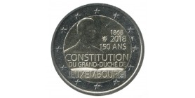 2 Euros Commemoratives Luxembourg 2018