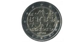2 Euros Commemoratives Lituanie 2018