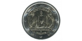 2 Euros Commemoratives Italie 2018 - Constitution