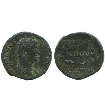 Sesterce D'hadrien Empire Romain