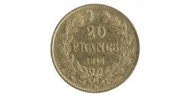 20 Francs Louis-Philippe Ier Tête laurée