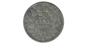 20 Centimes Napoléon III Tête Nue