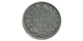 5 Francs Cérès Sans Légende