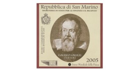 2 Euros Commemoratives St Marin 2005 - Galilée