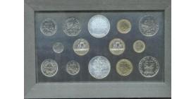 Série Fleur de Coin (F.D.C) France 1989
