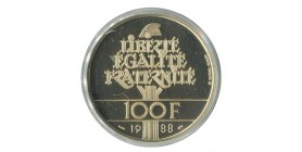 100 Francs Fraternité OR