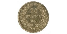 20 Francs Leopold Ier - Belgique