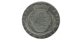 1 Thaler Frederic Auguste - Allemagne Saxe-Albertine