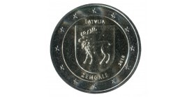 2 Euros Commemoratives Lettonie - Zemgale