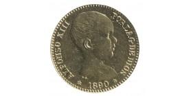 20 Pesetas Alphonse XIII - Espagne