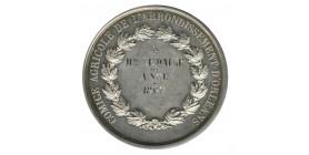 Médaille Napoléon III - Comice Agricole - Mme Lemaire