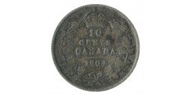 10 Cents Edouard VII - Canada
