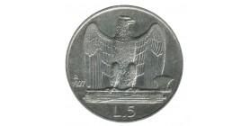 5 Lires Victor Emmanuel III - 1er Type - Italie