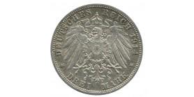 3 Marks Guillaume II - Allemagne Prusse