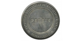 Médaille Napoléon III - Membre du Jury Exposition Universelle