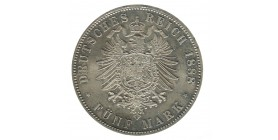 5 Marks Frederic III - Allemagne Prusse