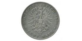 5 Marks Albert - Allemagne Saxe