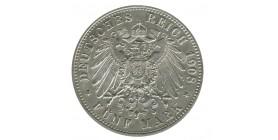 5 Marks - Allemagne Saxe-Weimar Eisenach