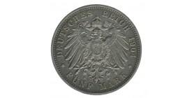 5 Marks Guillaume II - Allemagne Wurtenberg