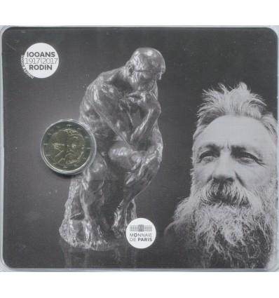 2 Euros Commémorative France 2017 Rodin