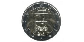 2 Euros Commémorative Patrimoine-Solidarité Malte 2018