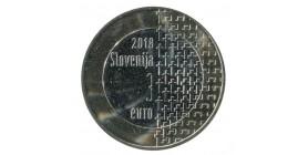 3 Euros Commémorative 100 Ans de la Guerre - Slovénie 2018