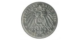 3 Marks Frederic II - Allemagne Bade Argent