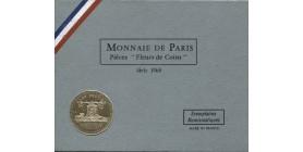Série Fleur de Coin (F.D.C) France 1968