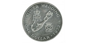 1 Dollar Elisabeth II - Bermudes Argent