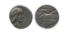 denier L. Calpurnius Piso république romaine