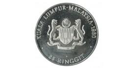 25 Ringgit - Malaisie Argent