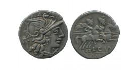 Denier L.cupiennius République Romaine