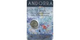 2 Euros Commémorative - Andorre