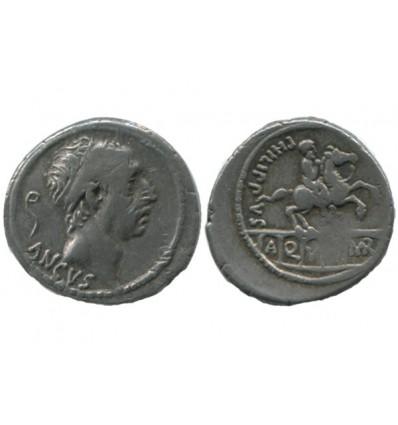 Denier L.marcius Philippus République Romaine