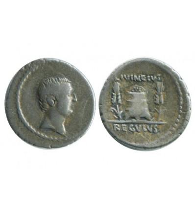 Denier L.regulus République Romaine