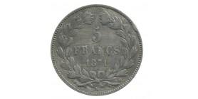 """5 Francs Cérès """"Sans Légende"""""""