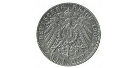 2 Marks Otto - Allemagne Bavière Argent